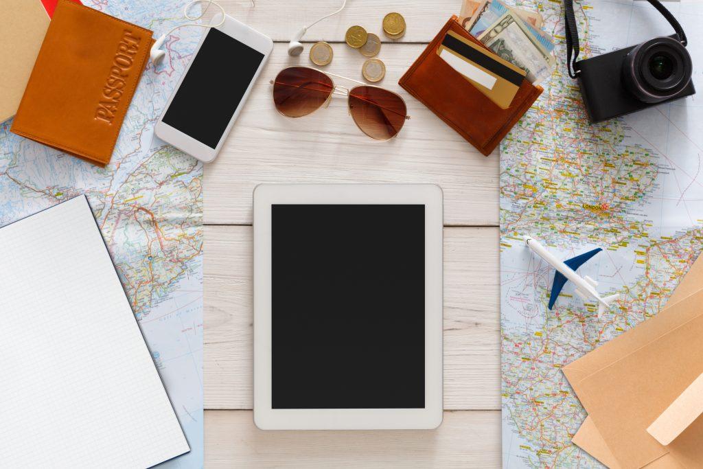 ambiance voyage et nouvelles technologies