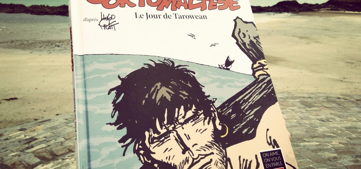 Couverture Le Jour de Tarowean illustration Corto Maltese