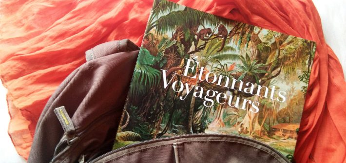 Ambiance illustration Étonnants Voyageurs