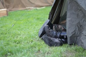 Camping sur herbe