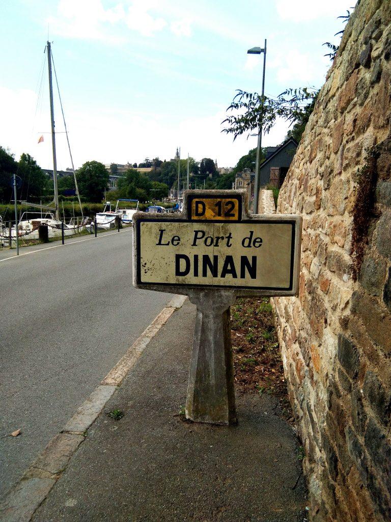 Panneau port de Dinan