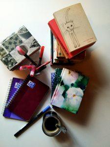 Piles de carnets
