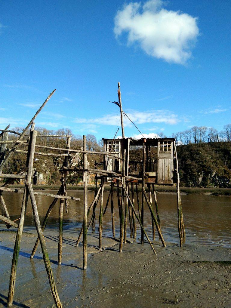 Cabanon de pêche au Lyvet