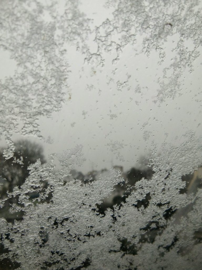 Neige sur le velux