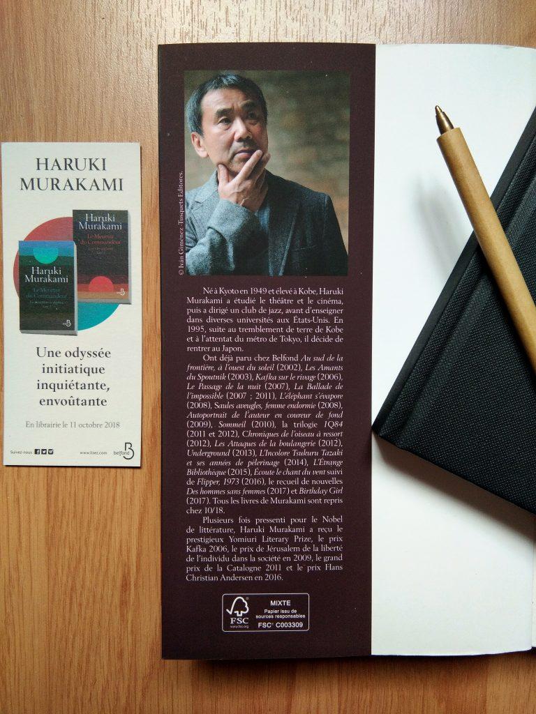 Portrait Haruki Murakami