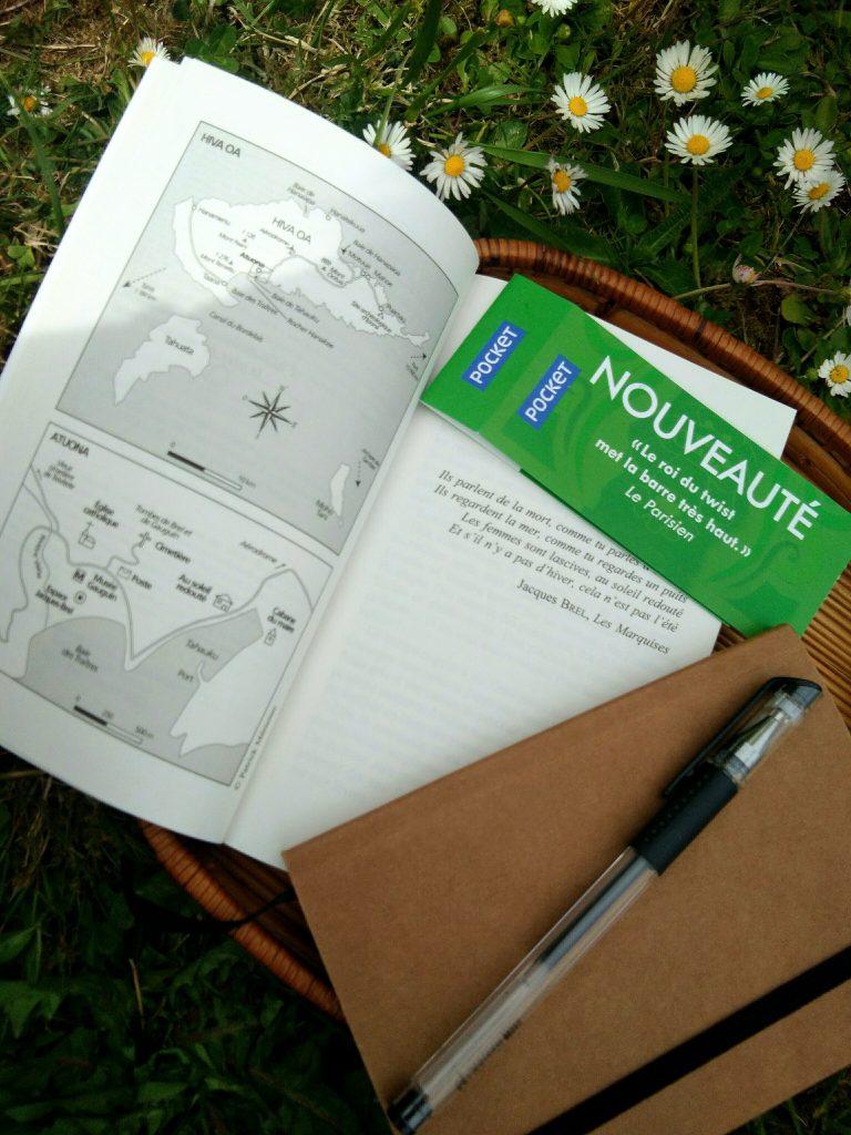 Au Soleil redouté pages intérieures cartes Polynésie