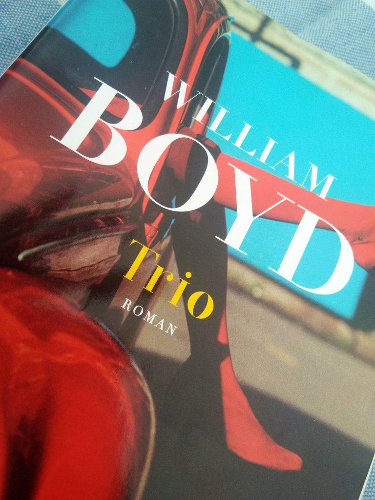 """""""Trio"""" William Boyd gros plan"""