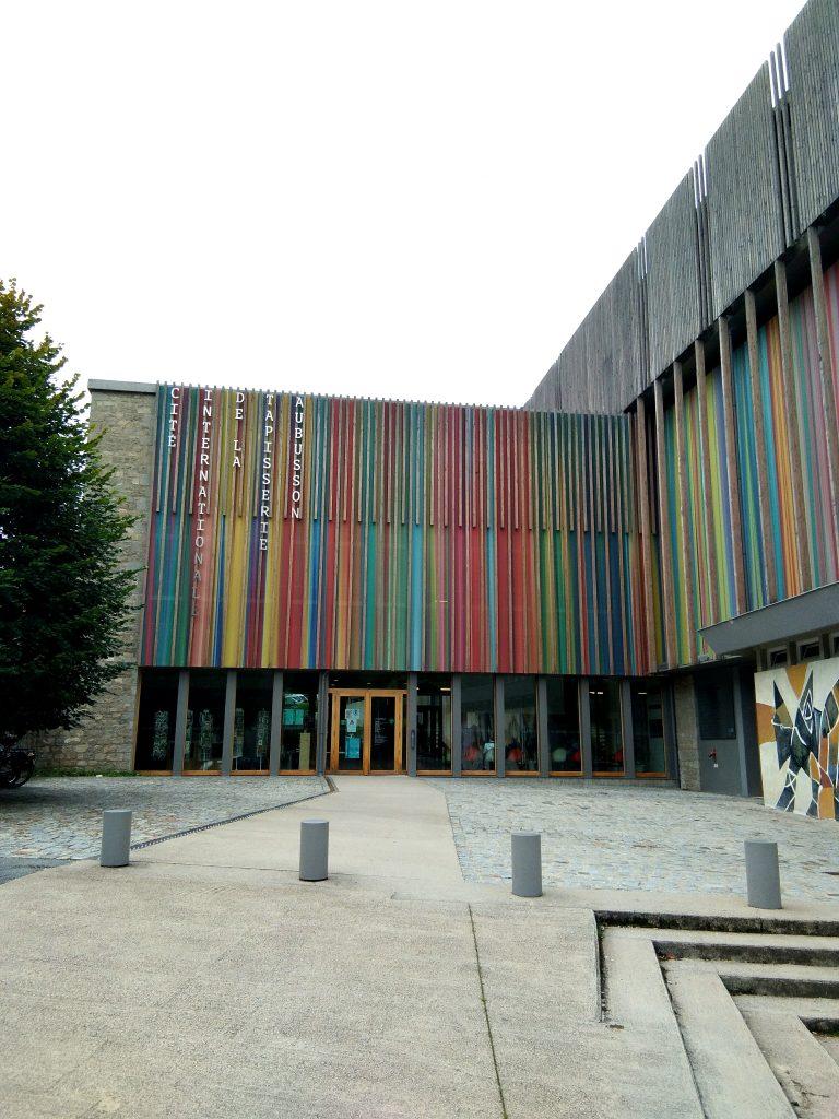 Entrée Cité Internationale de la Tapisserie Aubusson