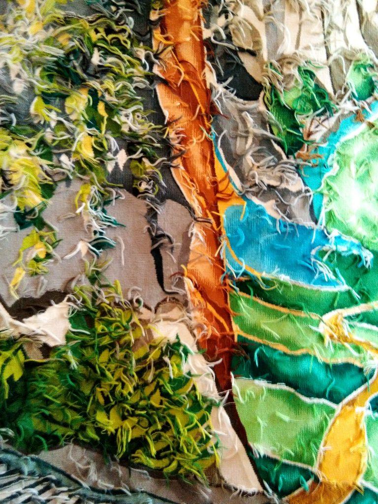 Envers tapisserie Rivendell Aubusson